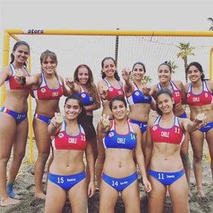 Selección Handball Playa Femenina